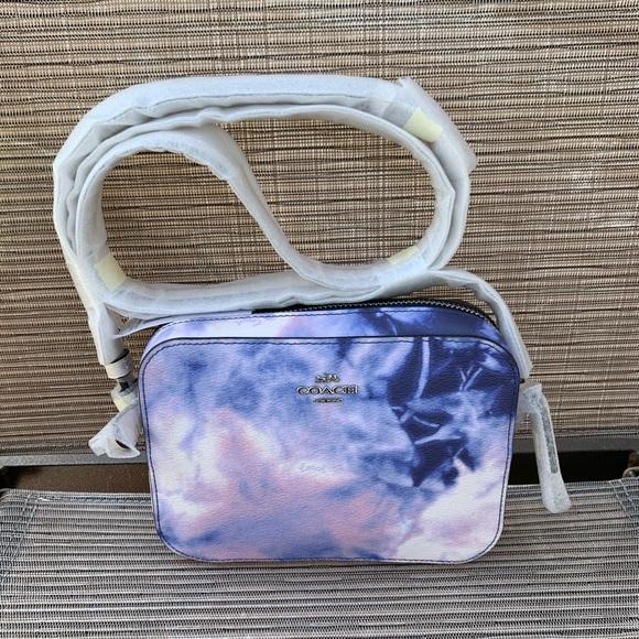Coach tie dye mini camera bag/ crossbody